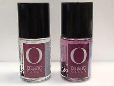 2 PK Organic Nails Ultra Bright & Nail Strength 15ml ½ oz each. Free Shipping