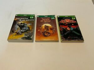 Fighting Fantasy, 3 x First Edition Paperback Books.