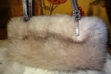 Paola del  Lungo Fox Designer Handbag, evening bag