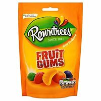 Rowntrees Fruit Gums 150g 6 Per Pack