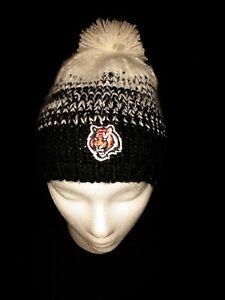 Womens Cincinnati Bengals Beanie NewEra NFL Brand