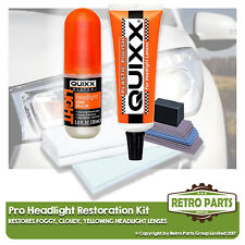 Headlight Restoration Repair Kit for Nissan X-Trail. Cloudy Yellowish Lens