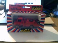 Solido Toner Gam 1 No.2127 MERCEDES UNIMOG   Boxed