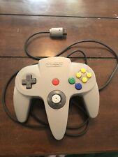 Original N64 Video Game Controller Grey Gamepad Nintendo 64 OEM NUS-005