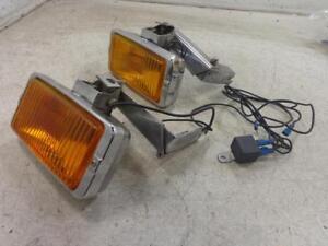82 Honda Goldwing GL1100 1100 FOG LIGHTS LIGHT YANKEE SPOTLIGHT SPOT LIGHTS