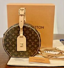 AUTH NEW Louis Vuitton PETITE BOITE CHAPEAU Hat Box bag, W/LV GIFT BOX, DUSTBAG!