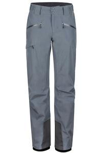 Marmot Lightray Snow Pants, Men's Size S, Steel Onyx - NEW