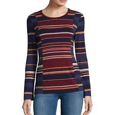 BCBGMAXAZRIA Melo Striped Jersey Top NWOT S $118