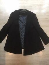 Ladies Black Swing Coat