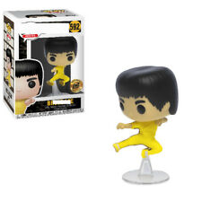 NEW!Funko PoP Bruce Lee #592 Jump Kick Bait Exclusive With Protector