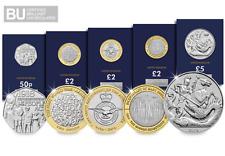 The 2018 CERTIFIED BU Commemorative Coin Set  [Ref 537K]