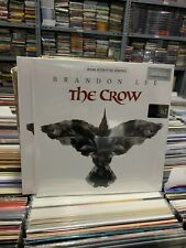 THE CROW 2 LP ORIGINAL MOTION PICTURE SOUNDTRACK BRANDON LEE WITH CROW ETCHING
