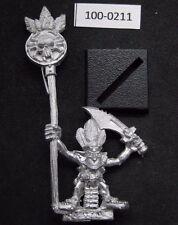 Citadel Warhammer Forest Goblin Standard Bearer (1992) nuevo & extremadamente rar