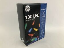 GE StayBright 100 Count Multi Color LED Plug-In Christmas Lights outdoor indoor