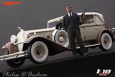 1/18 Philip D'Andrea VERY RARE!!! figures for 1:18 Mafia gangster