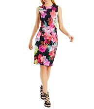 NEW  Nicole Miller New York Floral  Sheath Dress Size 14