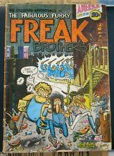 Furry Freak Brothers #1 1971 RipOff Press 1st Ptg Good reader+ Shelton free ship