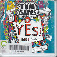 Tom Gates Yes No Maybe Liz Pichon 2CD Audio Book Unabridged Rupert Grint