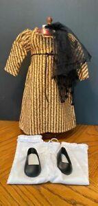 AMERICAN GIRL DOLL JOSEFINA CHRISTMAS DRESS, MANTILLA AND UNDERSLIP EX. CONDITIO