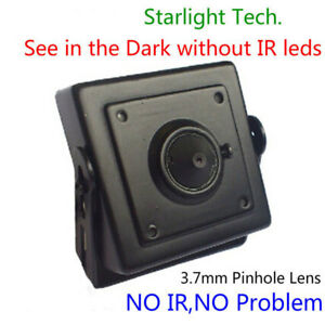 Low Light Mini Spy Hidden pinhole CCTV Video Camera HD 700TVL Home security cam