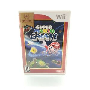 Super Mario Galaxy (Wii, 2007) Complete in Box - Scratched Needs Resurfacing