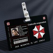 Resident Evil - Rain Prop ID Badge