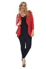 Medium Knit Solid Jumpers & Cardigans Formal for Women