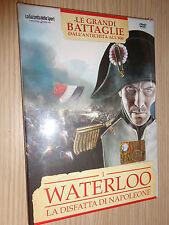 DVD N°1 LE GRANDI BATTAGLIE DALL´ANTICHITA´ ALL´800 WATERLOO DISFATTA NAPOLEONE
