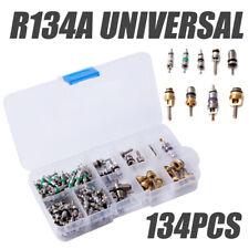 134pcs AC A/C Valve Core Valves for R134A Air Conditioning valves Assortment