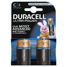 4 x Duracell Alkaline Ultra Power Batterie LR14 MN1400 Baby C MX1500 1,5V