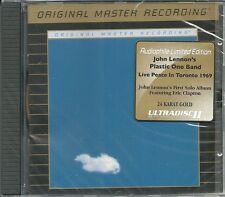 Lennon, John plastic ono band live in toronto 1969 MFSL Gold CD neuf emballage d'origine sealed