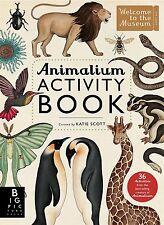 Animalium Activity Book by Katie Scott (New Paperback Book) 9781783703432