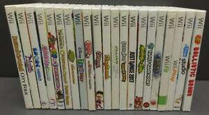 Lot 21 Nintendo Wii Video Games - ANIMAL CROSSING, NIGHTS, SPORE, SHREK, ZOO+++