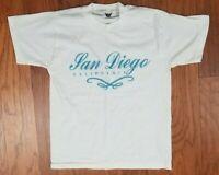 Vintage San Diego California Adult T Shirt Size Medium