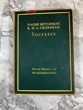 "1938 Antique History Book ""Socrates"""