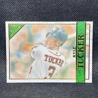 #/99! 🚨2020 Topps Gallery Green Kyle Tucker Houston Astros #89