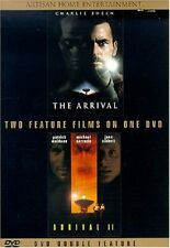 THE ARRIVAL (Charlie Sheen) / THE ARRIVAL 2 II  -  DVD - REGION 1 - SEALED