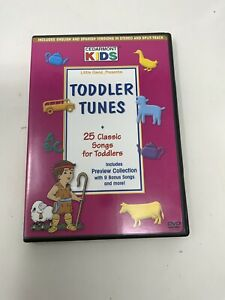 Cedarmont Kids - Toddler Tunes (DVD, 2001) 25 Classic Songs for Toddlers
