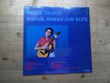 Merle Travis Rough Rowdy & Blue Very Good Vinyl LP Record Album CMH 6262