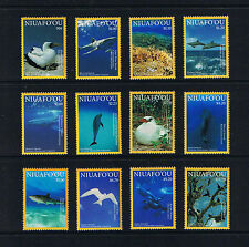 Niuafo'ou - 2016 Pacific Ocean Wildlife Postage Stamp Singles Set