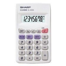 Sharp EL-233SB Basic 8 Digit Pocket Calculator
