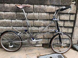 Alex Moulton Single Pylon NS Speed Space Frame Custom Bicycle Full Dura Ace