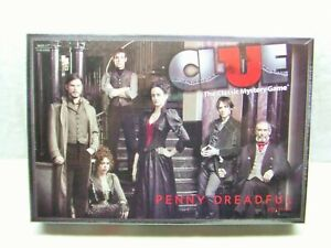 Clue: Penny Dreadful Edition ~ Classic Mystery Board Game ~ New Factory Sealed