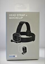 GoPro Head Strap + QuickClip ACHOM-001 for All GoPro HERO7 HERO6 HERO5 HERO4
