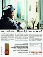 PUBLICITE ADVERTISING 126  1966   Thermex  chauffage central au mazout