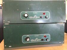 Altec 1594B 100 Watt Rack-Mount Power Amplifiers Working Lot of 2