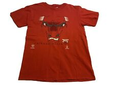 Chicago Bulls NBA Basketball Nutmeg Red NBA T-Shirt Mens XL Benny Vintage 90s