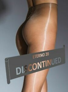 Glossy Shiny Pantyhose Eterno 20 Denier  Sheer to Waist  High Gloss Tights CdR