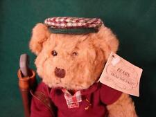 Russ Bears From The Past Chip Golfer - Golf Teddy Bear ~ great Fathers day gift
