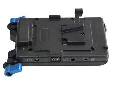 Sony V-mount Battery Power Supply Plate Splitter Rod Clamp LP-E6 Dummy Battery